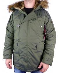 Alpha Industries Explorer Parka olive grün