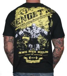 Vendetta Sports T-Shirt vanquish Fighters Fight Sport