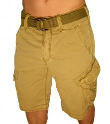 Jet Lag Cargo Herren Shorts Take Off 3 gold beige