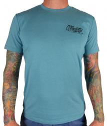 Vendetta Sports Herren T-shirt Sportswear First Class aqua blau