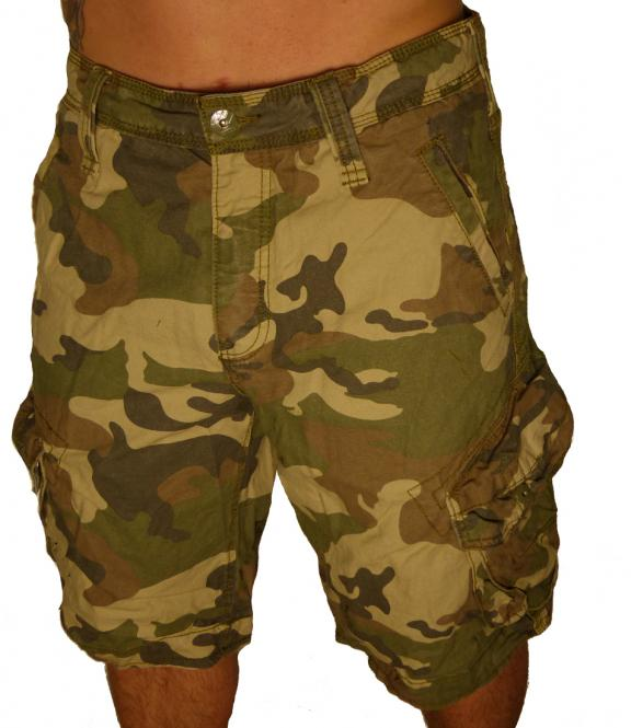 Jet Lag Cargo Herren Shorts Take Off 3 tarn camou